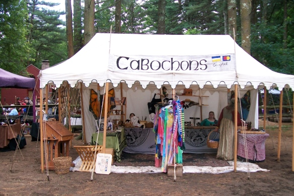 Cabochons at Wiltshire Fair