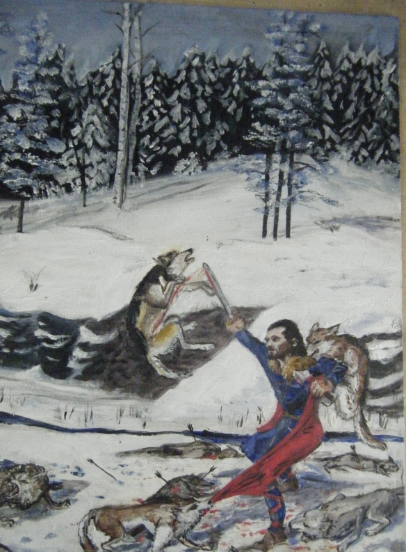 Frey's Saga Front cover
