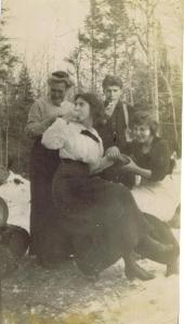 Bert, Eleanor and Sister Mattie
