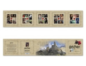 14 Harry Potter stamps