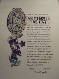 Aelfthryth AoA