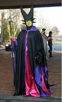 Maleficent standing
