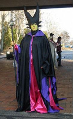 Maleficent standing