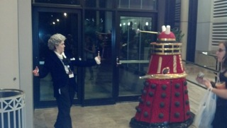 Dr and Dalek
