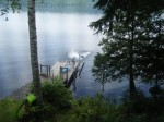 camp view of dock