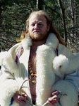 Raven white fur