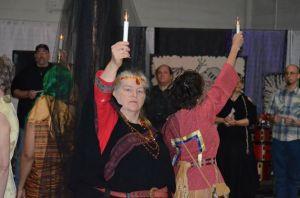 ritual at CelebrateSamhain13