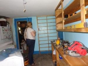 pantry honey shelves