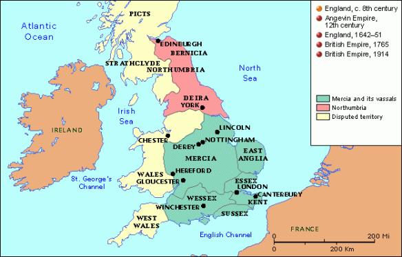 Britain 8th c