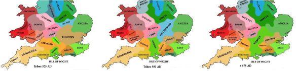 Britain Tribal-Progression 6th c