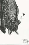 Inktober Bat