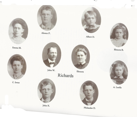 John W Richards family