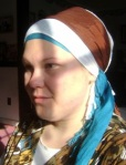 sarah- no earring