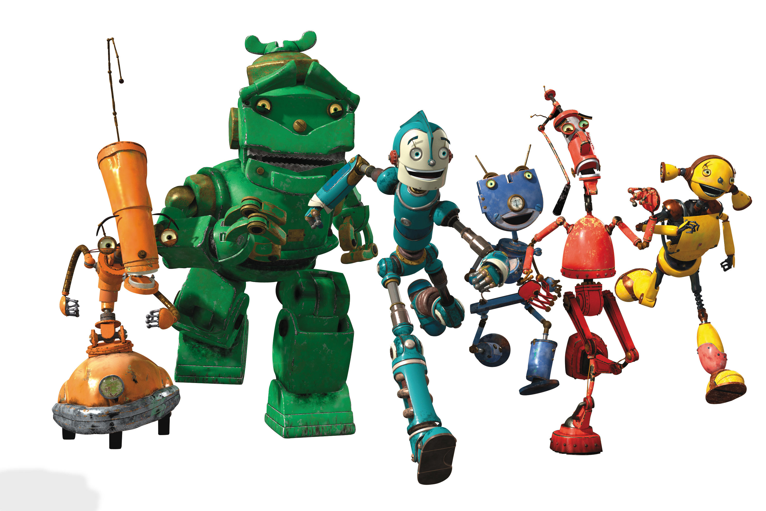 Cartoon Characters As Robots : Love your robot day february th tchipakkan