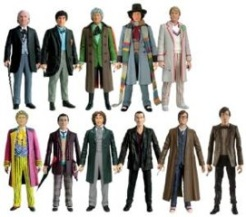 dr who figurines