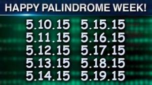 Palindrome week