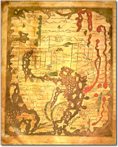 Cover Mappe Mundi 1025-1050 Cotton Colletion