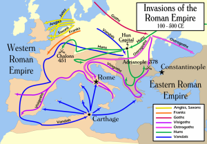 nInvasions_of_the_Roman_Empire_by user MapMester
