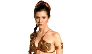 Carrie-Fisher-as-Princess-Leia-in-a-gold-bikini-584890