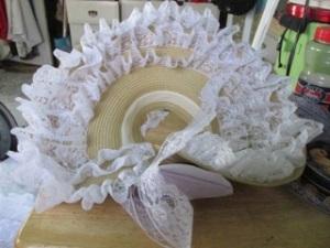 lacy bonnet