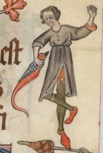 lutrell psalter dancer