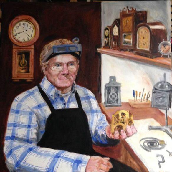 Clockmaker Scott Farr