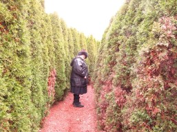 Me in Honor's Haven maze