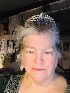 Me in blue tiara